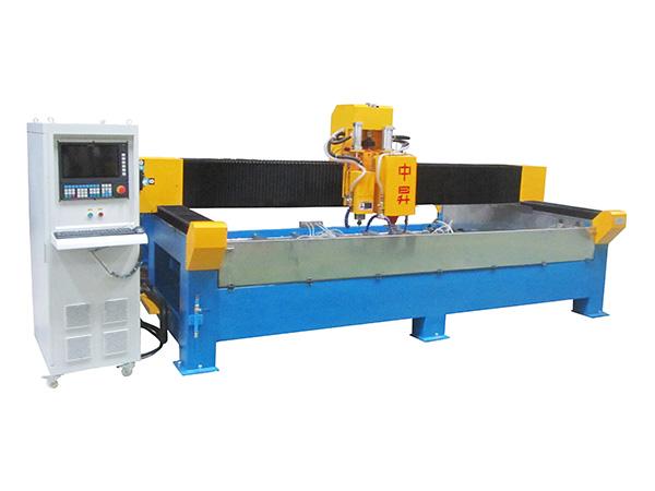 CNC数控挖孔磨边机