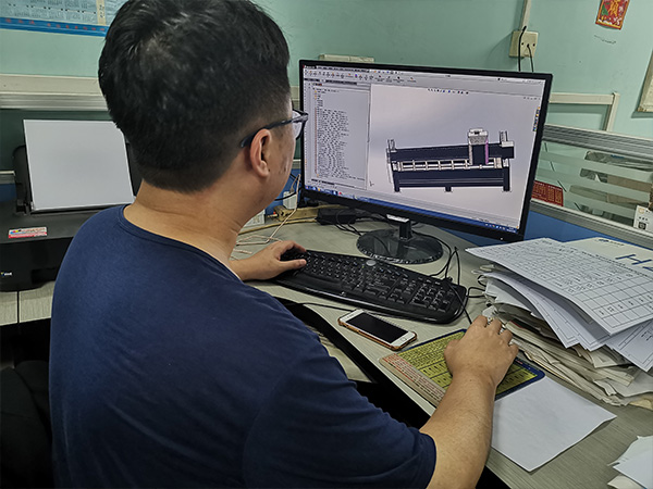中升机械生产技术部