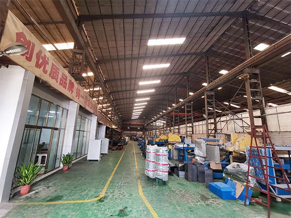中升机械工厂环境